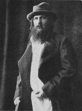 Una toma de Rasputín sin fecha, luciendo un atuendo más occidental