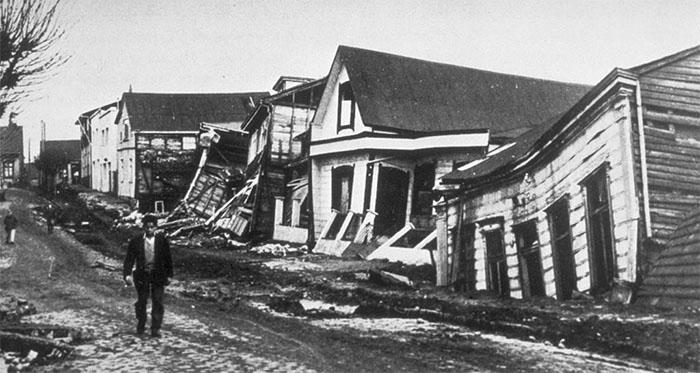 Secuelas del terremoto de Valdivia, Chile, 1960