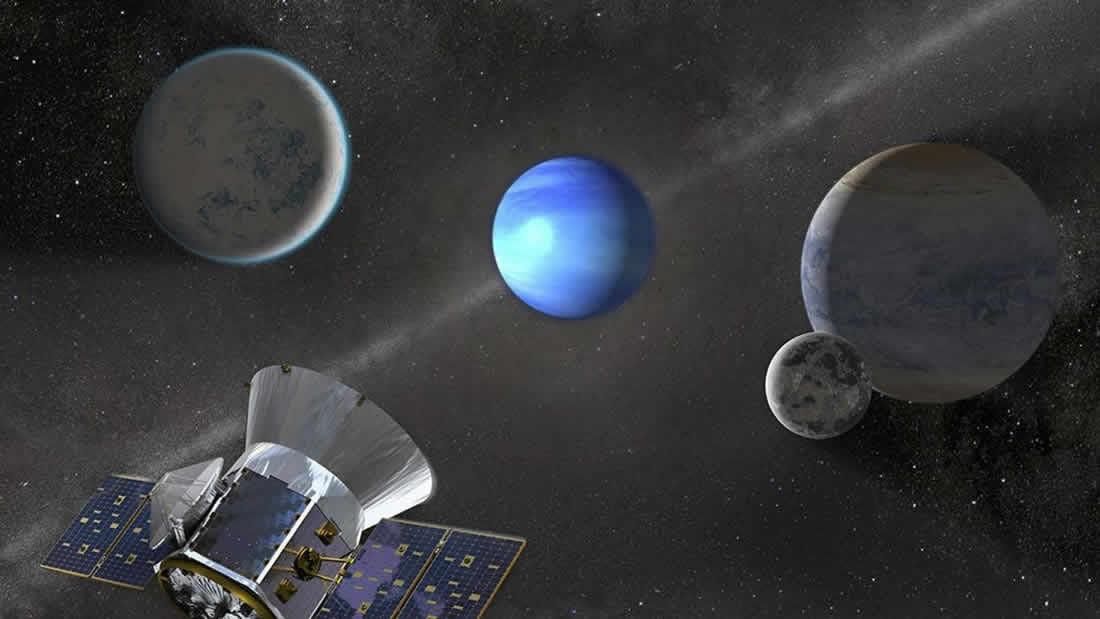 TESS descubre 21 exoplanetas confirmados en su primer año de misión
