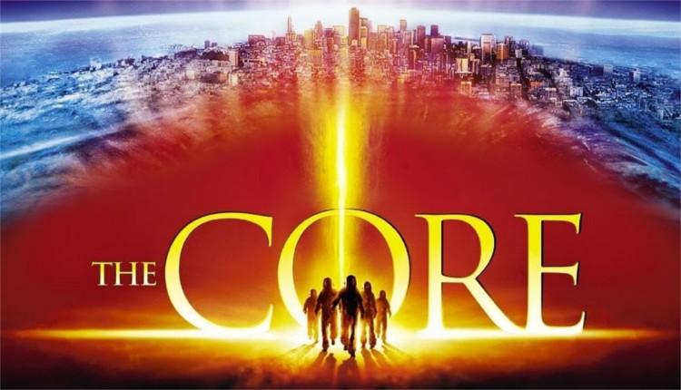 The Core o El Núcleo, es una película de ciencia ficción en que un equipo científico excavan hacia el centro de la Tierra para reiniciar la rotación del centro con armas nucleares.