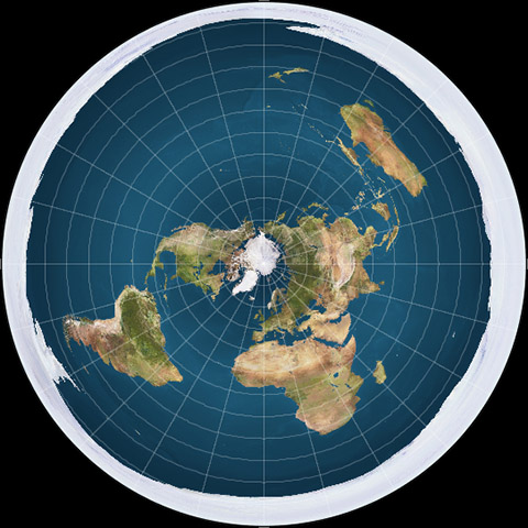 La Teoría de la Tierra Plana y el efecto «borrego» en sus seguidores