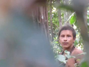 Vídeo de tribu no contactada en la Amazonía destaca la deforestación en Brasil