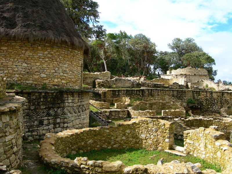 El fuego estuvo a punto de arrasar con lel sitio arqueológico de Kuélap