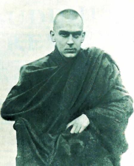 Allan Bennet, el gran maestro de Crowley, y uno de los primeros occidentales en introducir el budismo en Inglaterra