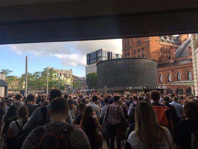 Apagón masivo en Londres y sur del Reino Unido deja a la ciudad sin transporte