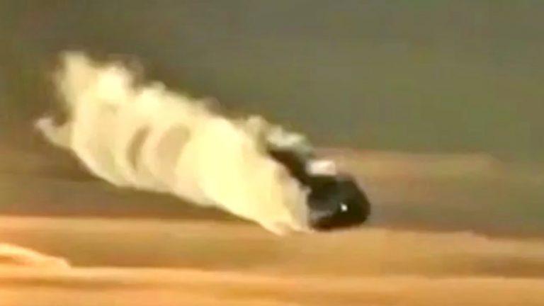 Capturan extraño objeto volador desde un avión de pasajeros en México
