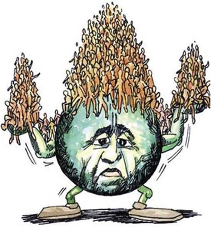 La población humana en expansión está estresando al planeta