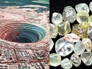 Diamantes súper profundos revelan el material más antiguo de la Tierra y es tan antiguo como la Luna