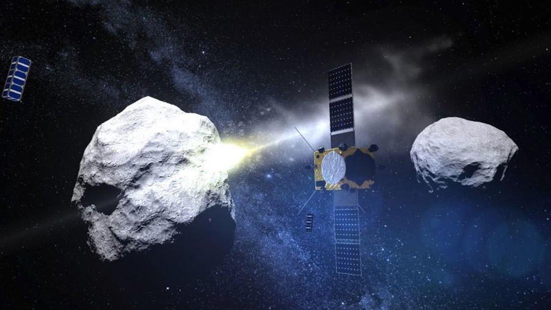 Dos asteroides «potencialmente peligrosos» se acercarán a la Tierra este miércoles