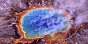 El manto de supervolcán de Yellowstone se extiende hasta California