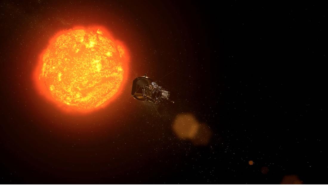 El Sol lanzó una potente onda de choque interplanetaria