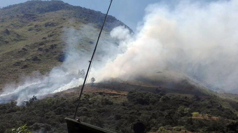 El fuego afectó a zonas cercanas a Machu Pïcchu