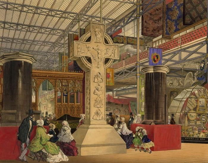 La Cruz Celta contemplada en 1851 por HPB, durante su visita a la famosa exposición británica