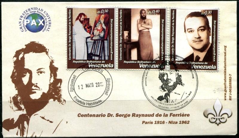 Una postal conmemorativa, en el centenario de su muerte