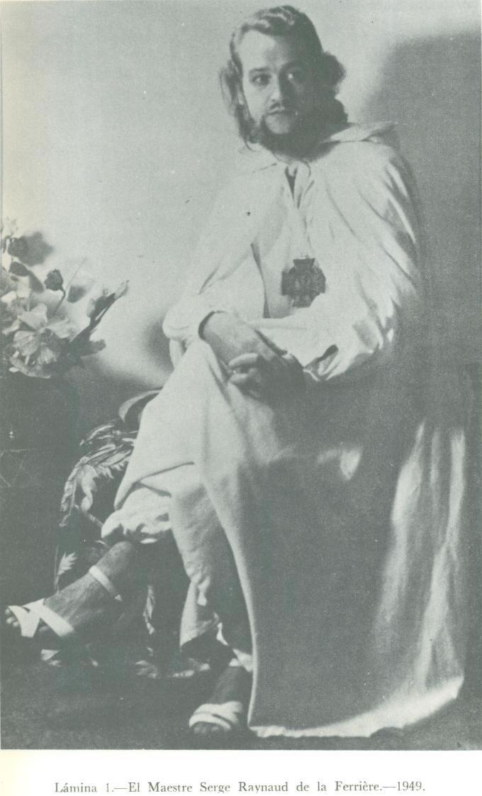 Dr. Serge Raynaud de la Ferrière, retratado en 1949