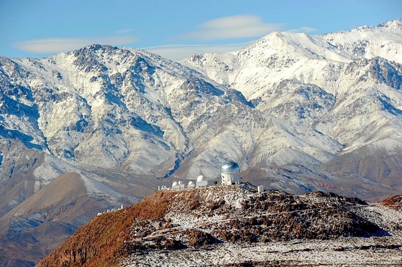Hermosa postal del esplendoroso Valle de Elqui, Coquimbo, norte de Chile