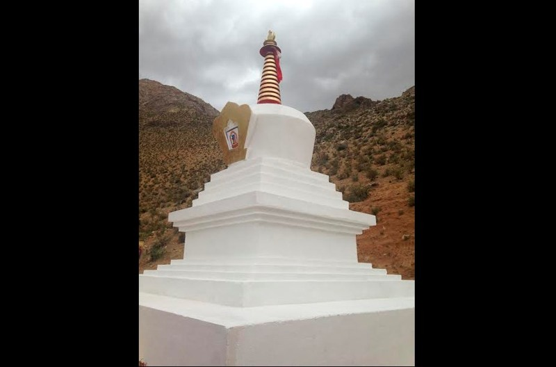 Estupa budista inaugurada en Valle de Elquis, 2016