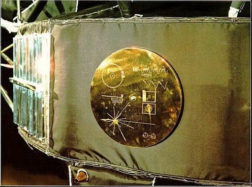La Sonda Voyager I que en 1977, llevara hacia el espacio, un mensaje de hermandad