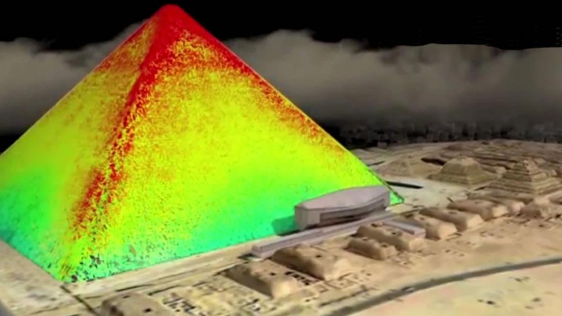 La Gran Pirámide de Giza es un enorme «condensador» de energía electromagnética