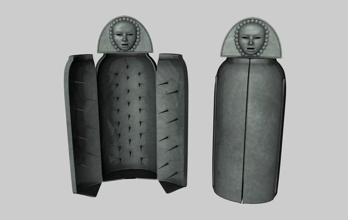 La Doncella de Hierro, un abominable artefacto de tortura utilizado por Isabel Bathory