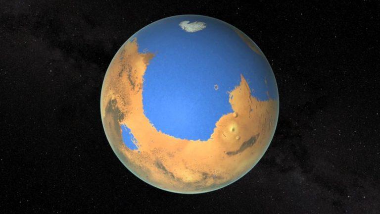 Marte tenía un clima cálido, lluvia y tormentas antes de que se volviera frío