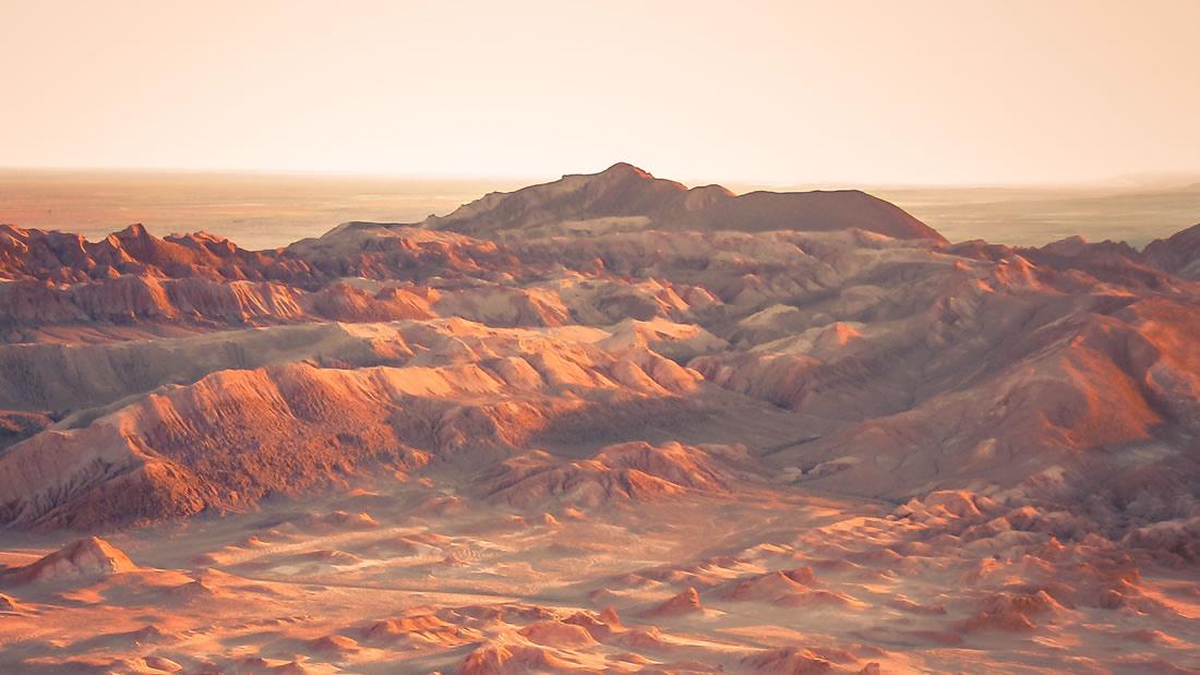Microbios marcianos podrían estar siendo transportados por el viento