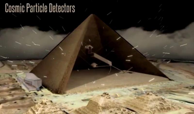 La Gran Pirámide de Guiza es un enorme «condensador» de energía electromagnética