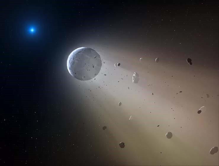 Misteriosa señales «alienígenas» están siendo enviadas por planetas muertos