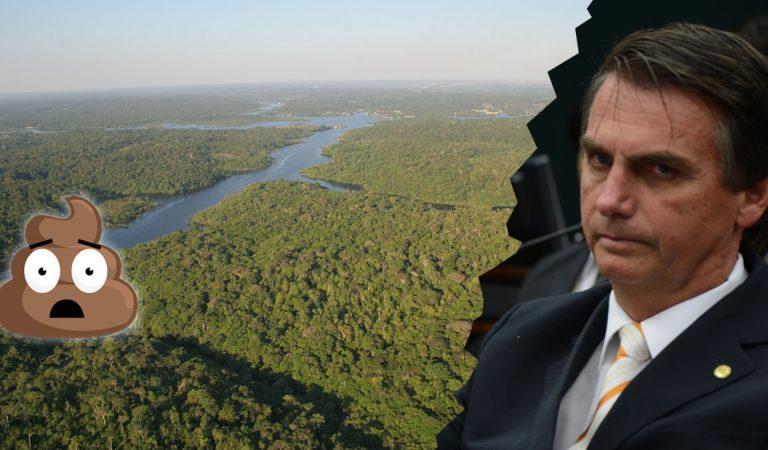 Presidente de Brasil recomienda defecar cada dos días para salvar el planeta