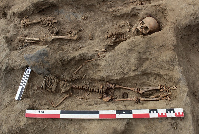 Arqueólogos hacen el mayor descubrimiento de niños sacrificados en Perú