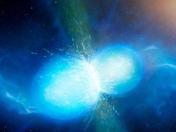 Simulan la colisión de dos estrellas de neutrones en la Tierra