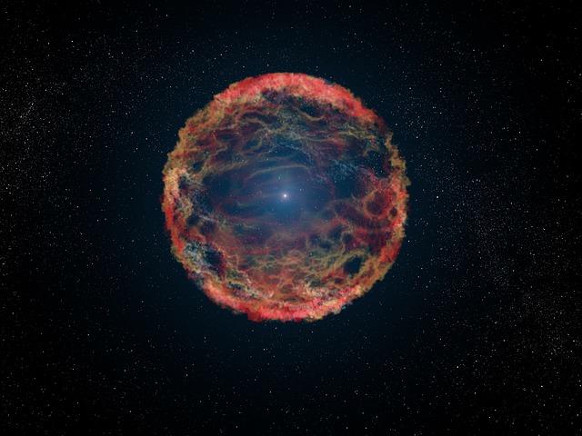 La explosión generada por una supernova podría ser la causante de la lluvia de polvo interestelar en la Tierra