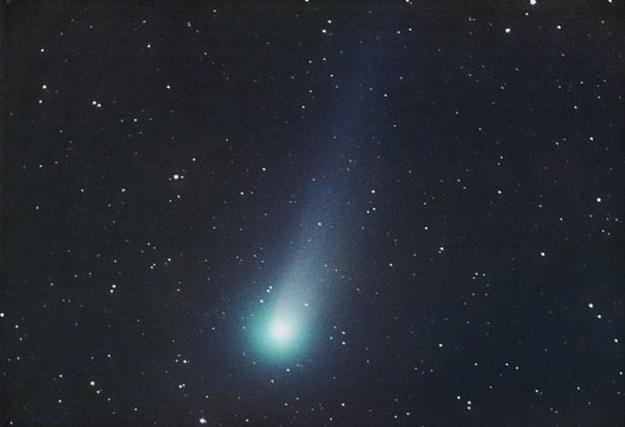 Cometa 109P/Swift-Tuttle, que genera la lluvia de estrellas de las Perseidas