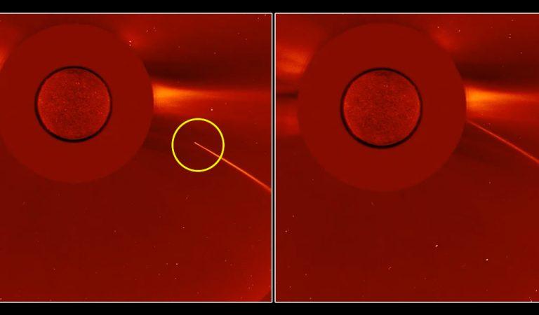 Un cometa fue completamente «devorado» por el Sol