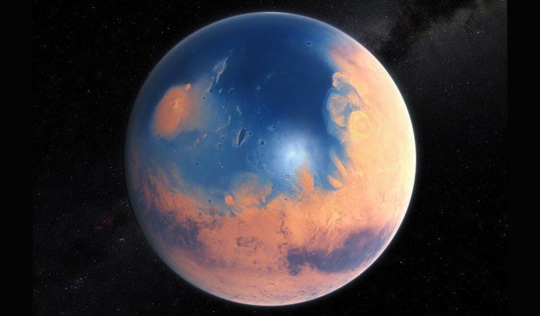 Un mega tsunami golpeó a Marte en el pasado