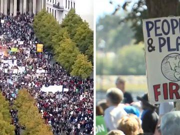 4 millones de asistentes: la Mayor Protesta Mundial por el Clima en la historia e iniciada por una niña