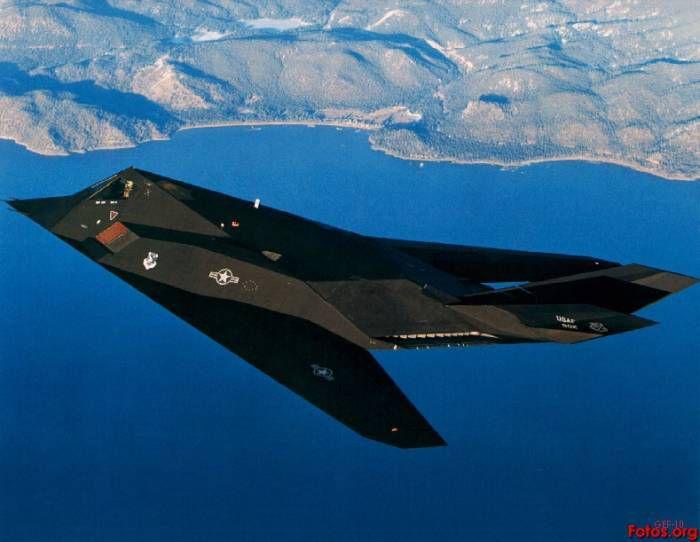 Avión de combate F-117