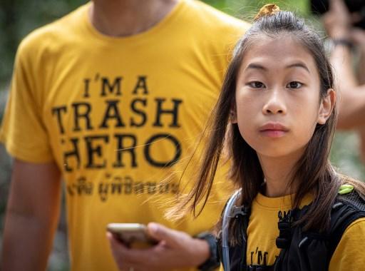 Ralyn Satidtanasarn, conocida como 'Lilly', fue la protagonista de las protestas en Tailandia