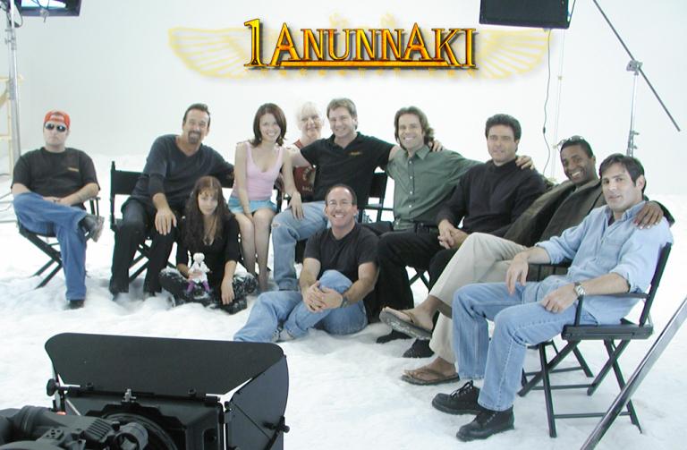 El supuesto equipo de producción de la película 1Anunnaki