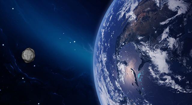 Astrónomos detectan un asteroide que «cambia de color» de rojo a azul