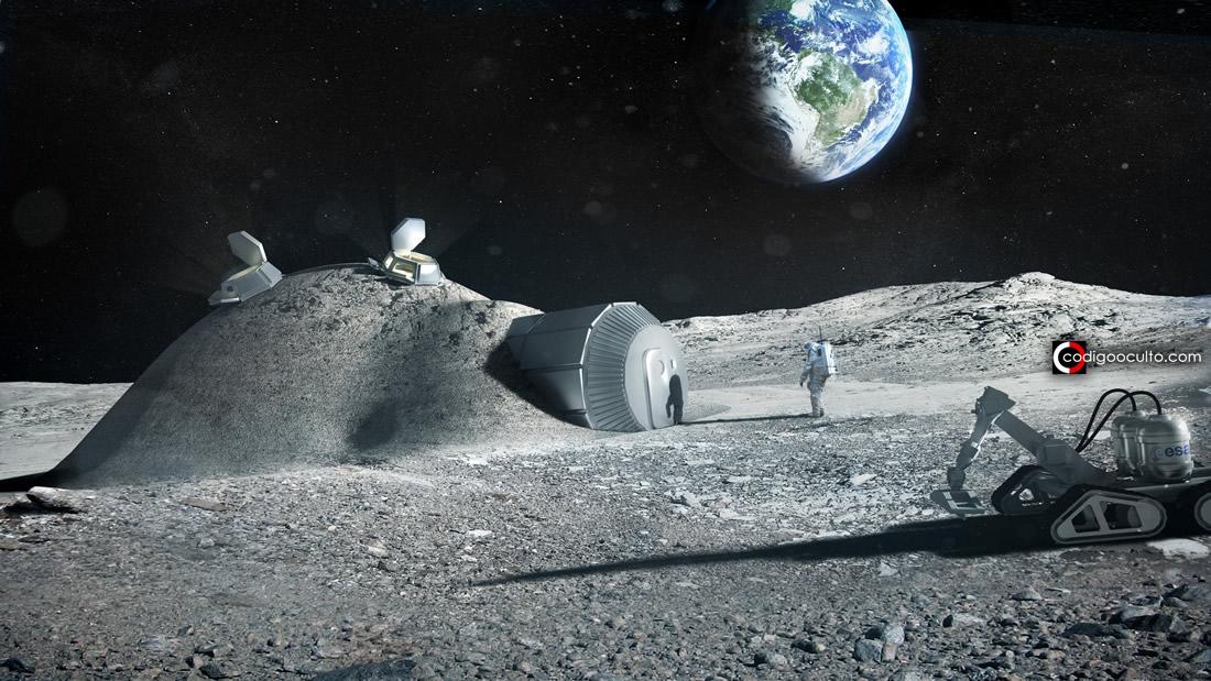 Astrónomo de Harvard dice que la Luna podría contener evidencia de vida alienígena