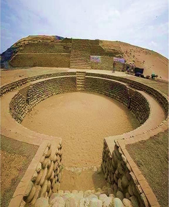 Caral arquitectura que guarda en sus edificaciones elementos iniciáticos, provenientes de un antiguo conocimiento hermético