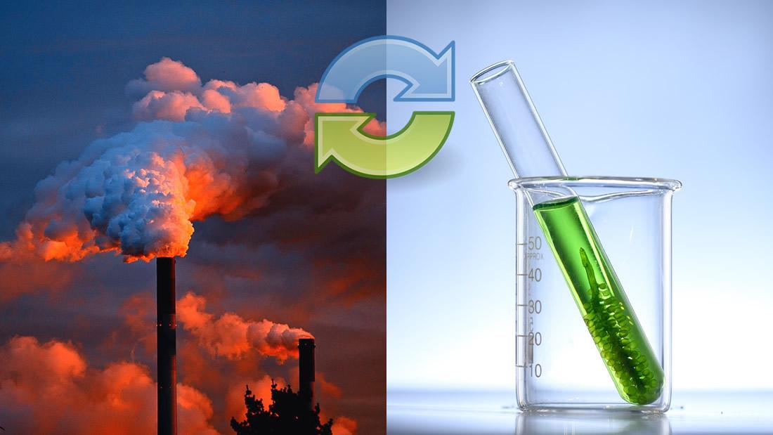 Científicos convierten dióxido de carbono (CO2) en combustible líquido puro