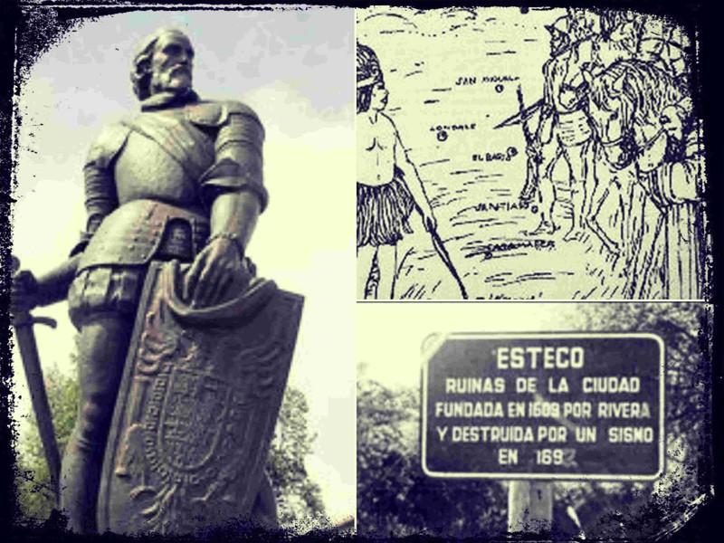 Esteco urbe del norte argentino, desaparecida durante un terremoto en el siglo SXVI, que forma parte del mito de la Ciudad de los Césares