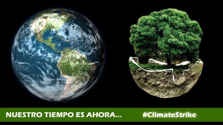 CODIGO OCULTO se une a la Huelga Climática Mundial del 20 al 27 de septiembre