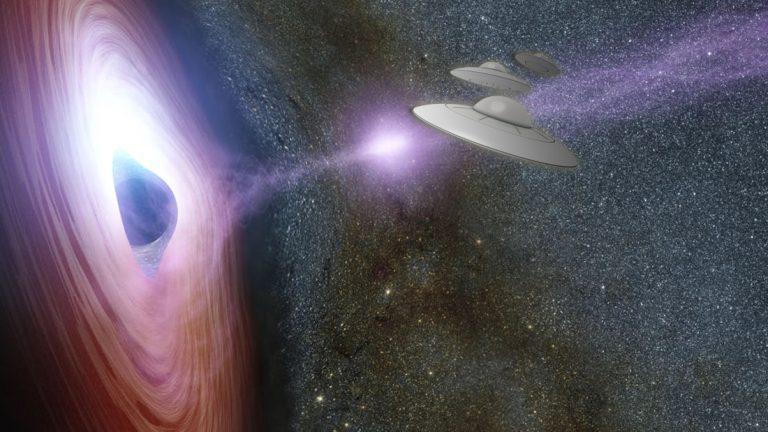 Emisiones «UFO» están saliendo de agujeros negros y modificando galaxias