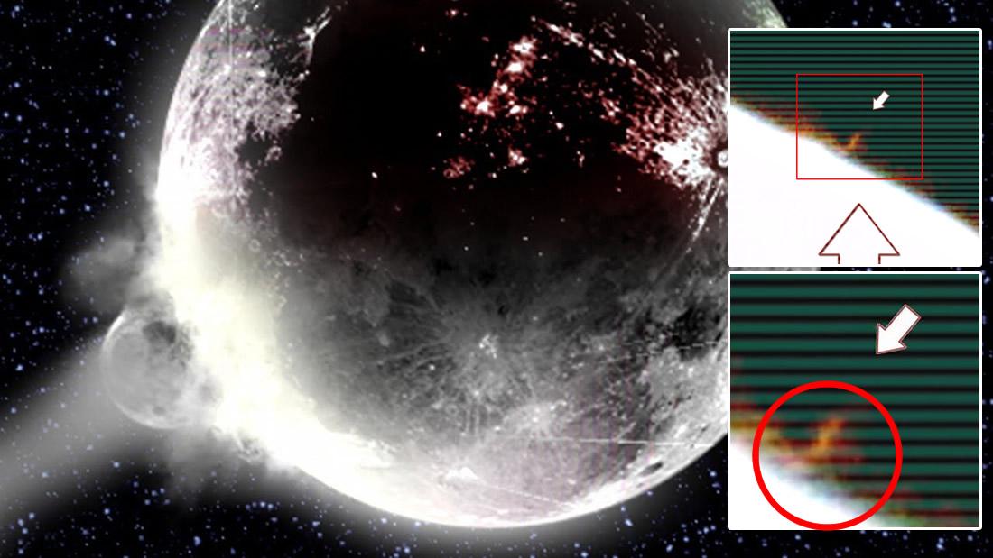 Enorme objeto se estrella contra la Luna, causa tres explosiones y es captado en vídeo