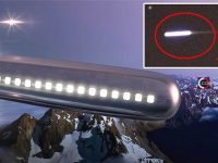 Capturan un «OVNI Cigarro» a moviéndose a enorme velocidad sobre Las Vegas, Nevada
