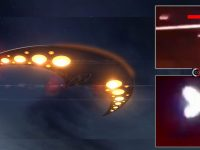 Guardia Revolucionaria de Irán dispara contra un OVNI con forma de Boomerang (Vídeo)