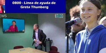 Internet ama la «Línea de Ayuda» de Greta Thunberg para adultos enojados con un niño